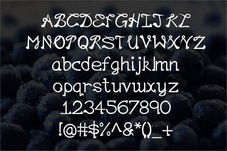 EP Lazy шрифт скачать бесплатно