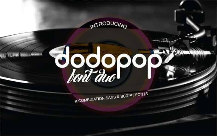 Dodopop шрифт скачать бесплатно