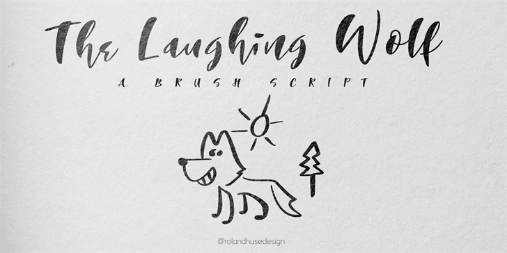Download The Laughing Wolf font (typeface)