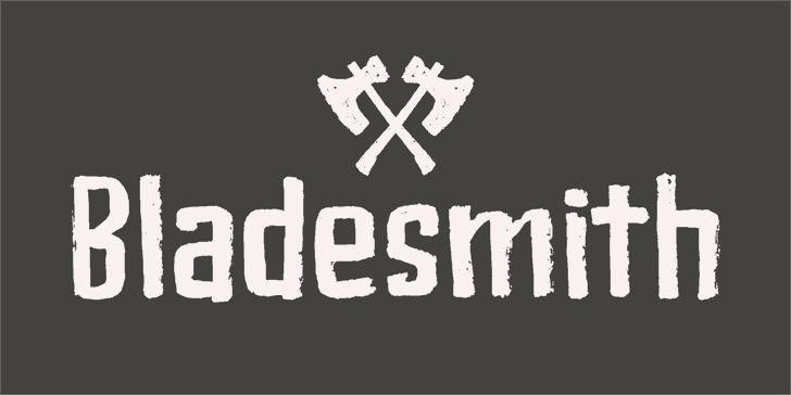 Download Bladesmith font (typeface)