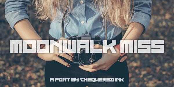 Moonwalk Miss шрифт скачать бесплатно