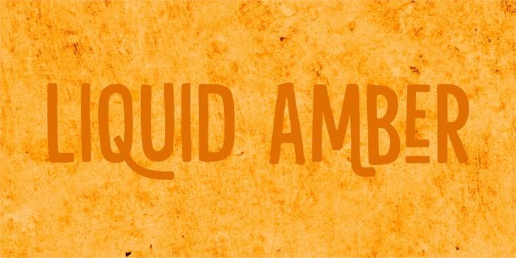 Download Liquid Amber font (typeface)