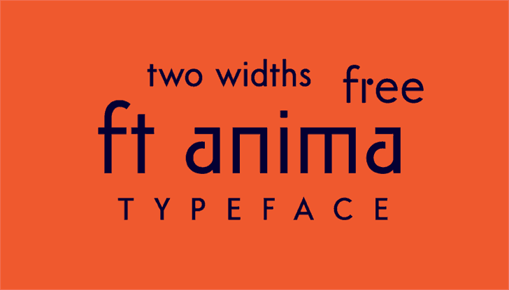 Download ft anima font (typeface)