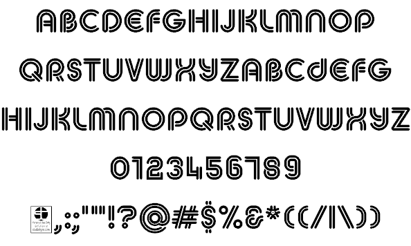 Download MACCOS Demo font (typeface)