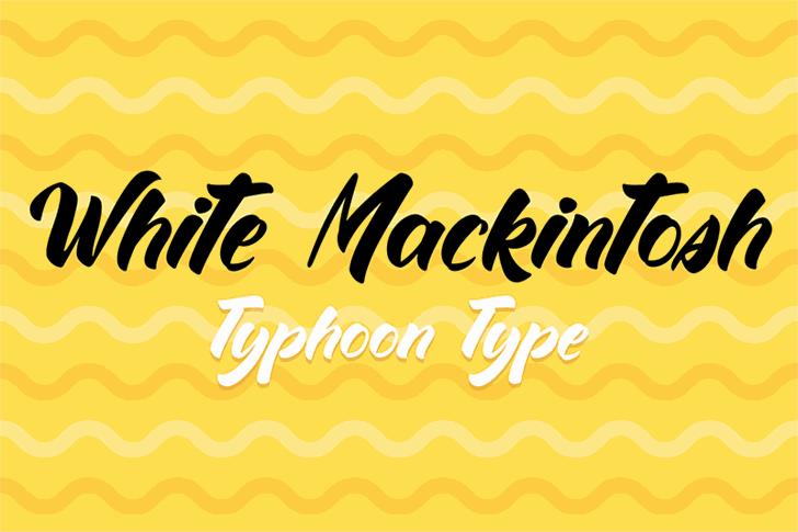 Download White Mackintosh font (typeface)
