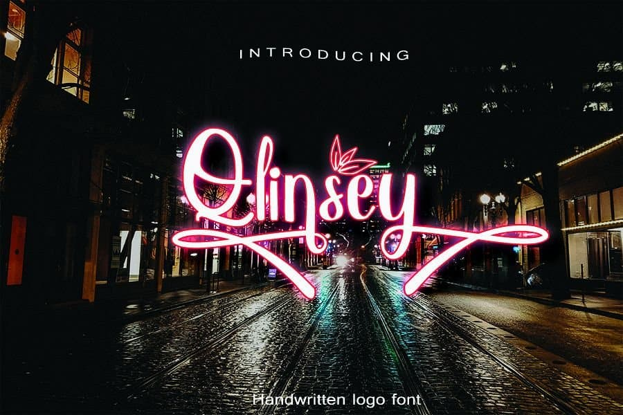 Download Qlinsey font (typeface)