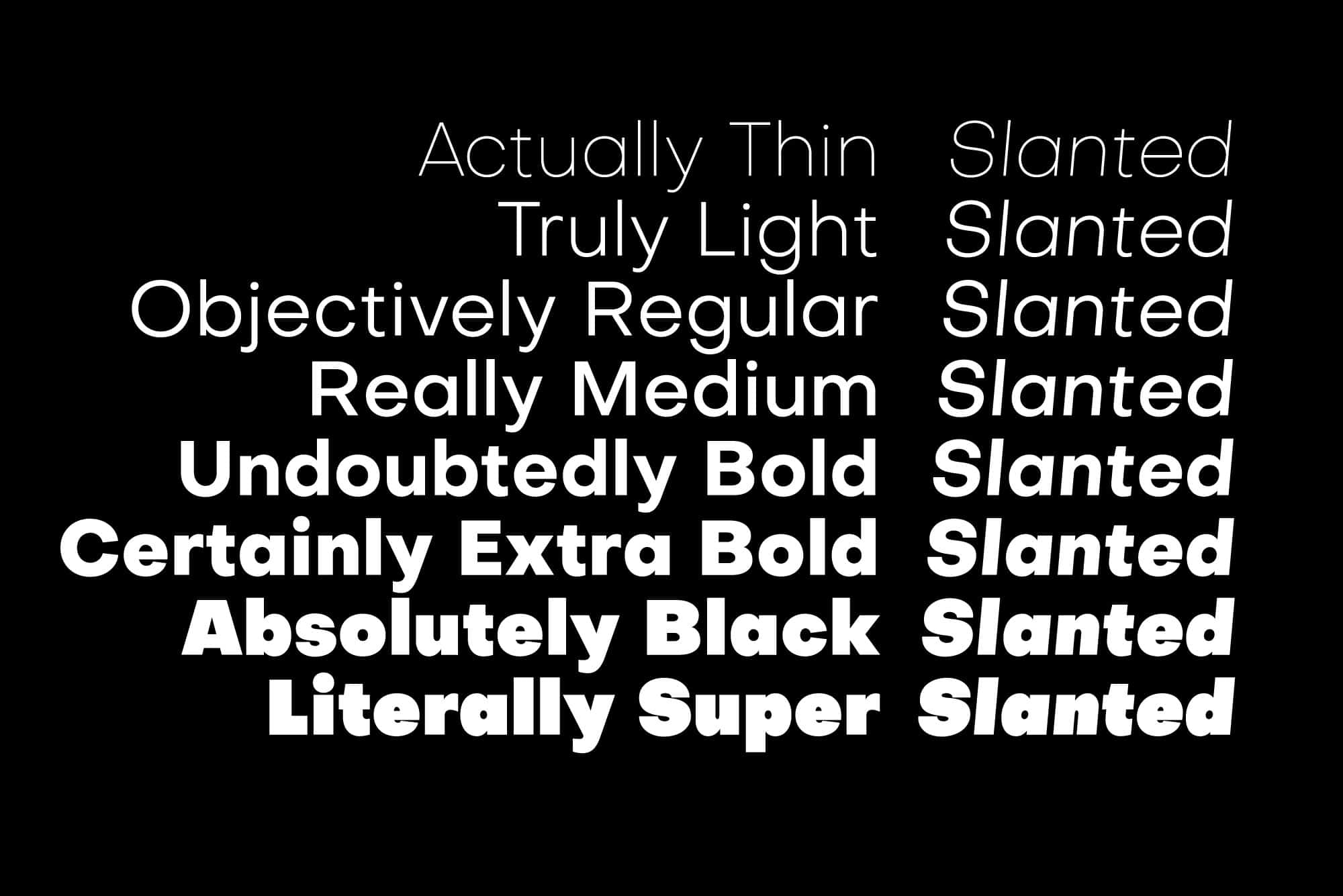 Download Objectivity font (typeface)