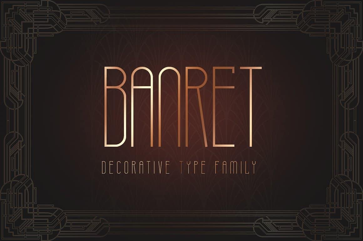 Download Banret font (typeface)