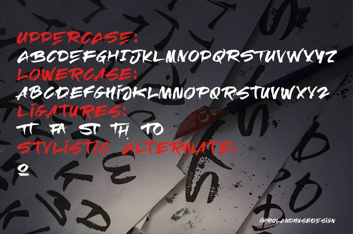 Download RElapse font (typeface)