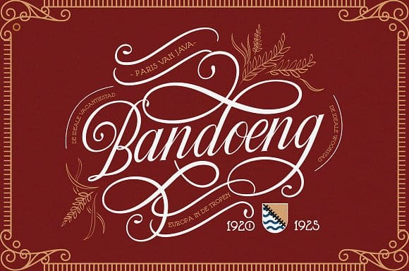 Download Tjikapoendoeng River font (typeface)