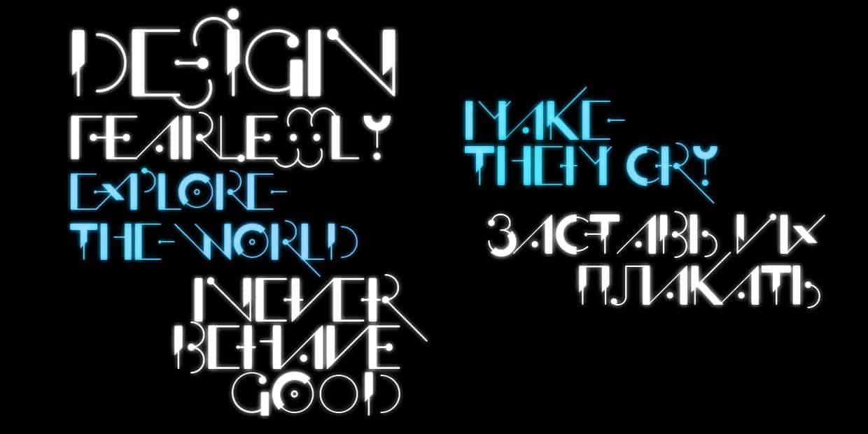 Download Offfensive Behaviour font (typeface)