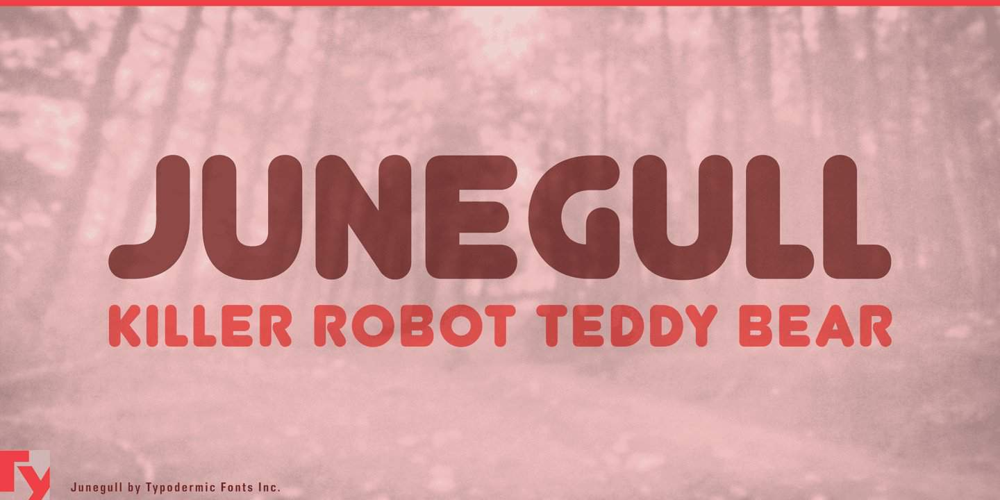 Download Junegull font (typeface)