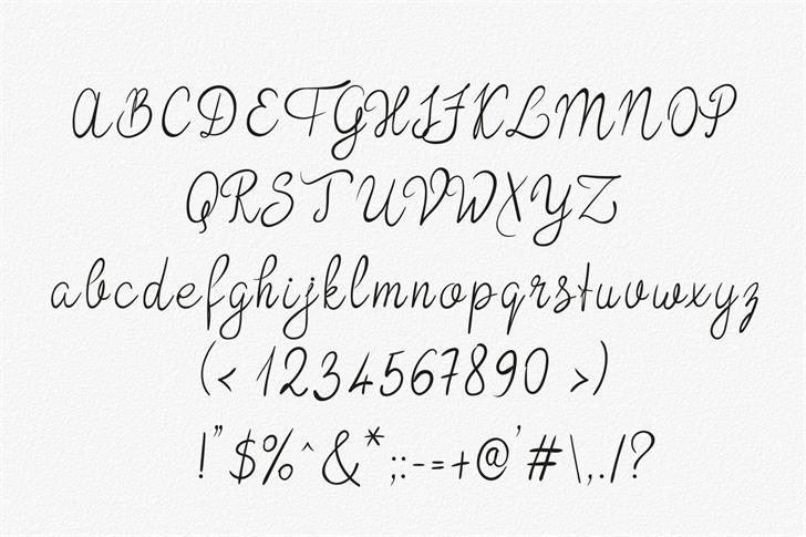 Download Bokretan font (typeface)