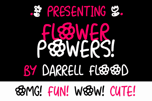 Download Flower Powers font (typeface)