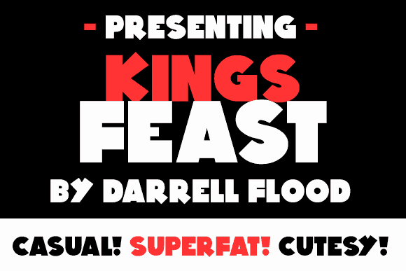 Download Kings Feast font (typeface)