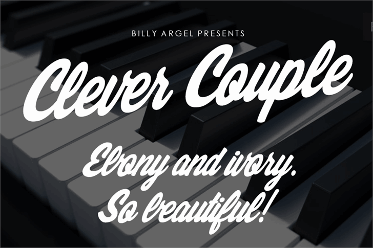 Download Clever Couple font (typeface)
