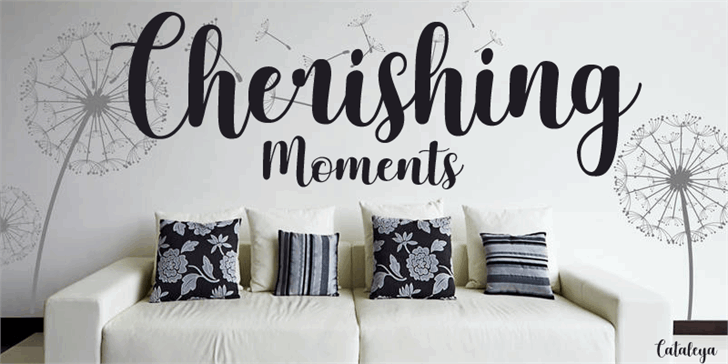 Download Cherishing Moments font (typeface)