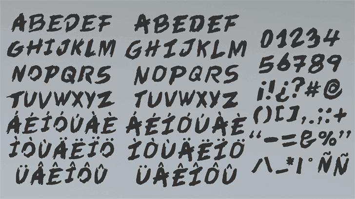 Download In der Zeit font (typeface)