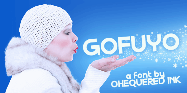Download Gofuyo font (typeface)