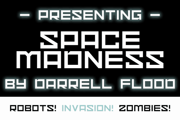 Download Space Madness font (typeface)