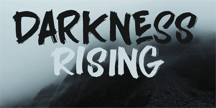 Download Darkness Rising font (typeface)