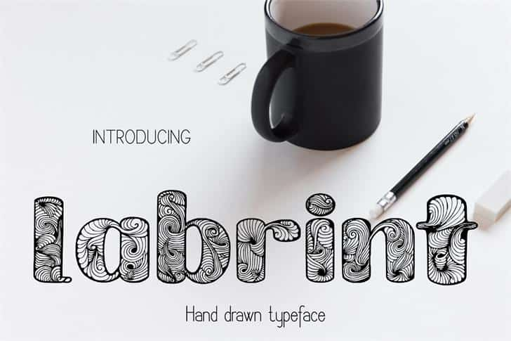 Download Labrint font (typeface)