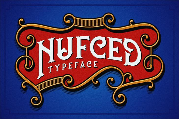 Download Nufced font (typeface)