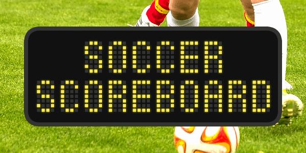 Download Soccer Scoreboard font (typeface)