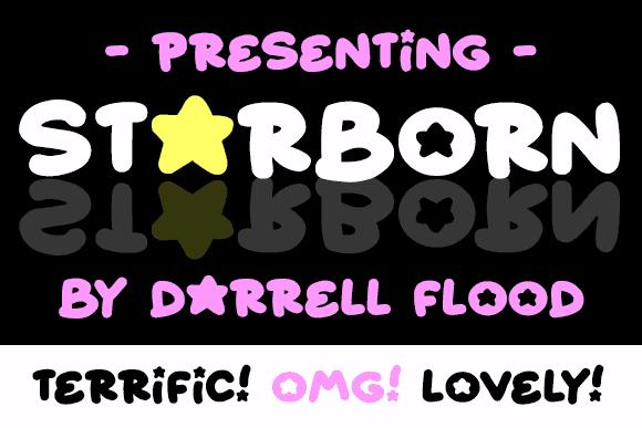 Download Starborn font (typeface)
