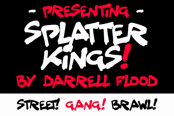 Download Splatter Kings font (typeface)