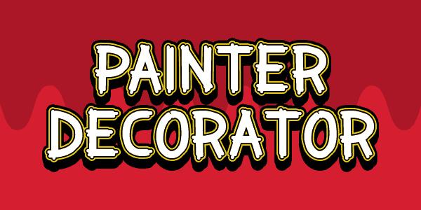 Painter Decorator шрифт скачать бесплатно