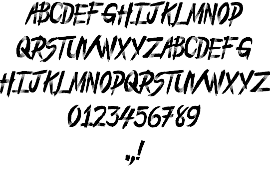 Download From the Dead font (typeface)