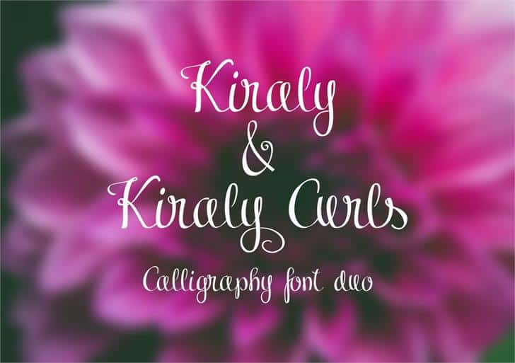 Download Kiraly font (typeface)