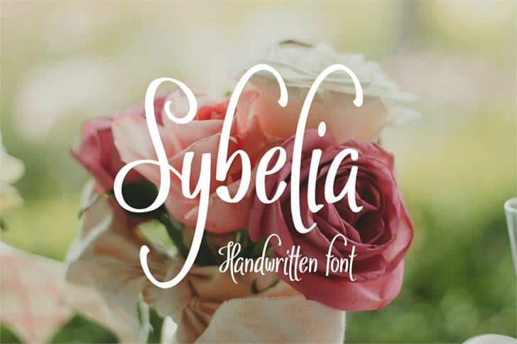 Download Sybelia font (typeface)