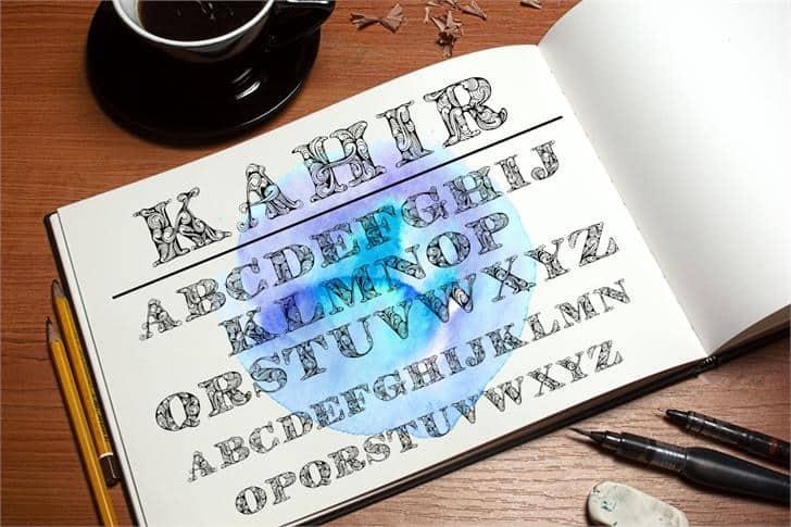 Download Kahir font (typeface)