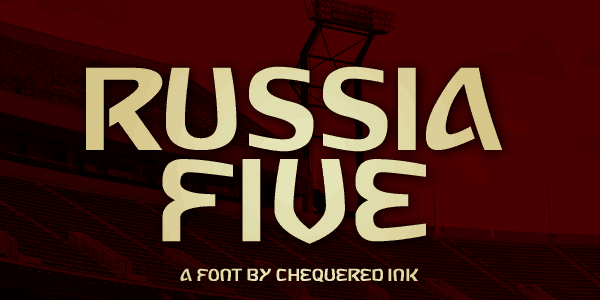 Download Russia Five font (typeface)