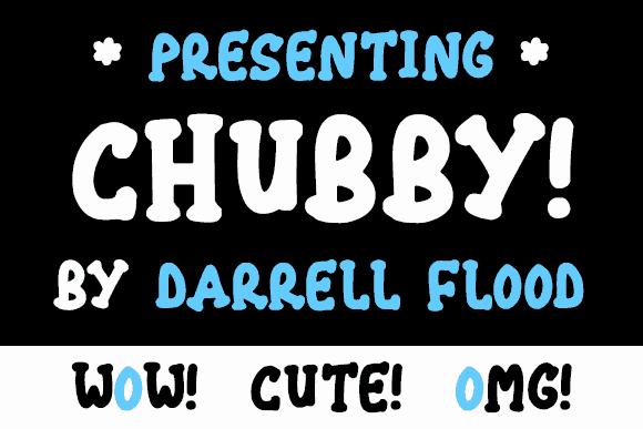 Chubby шрифт скачать бесплатно