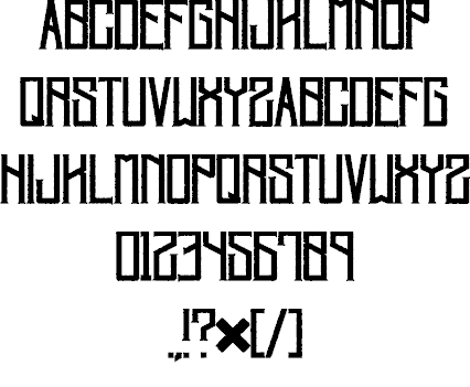 Download Villagers font (typeface)