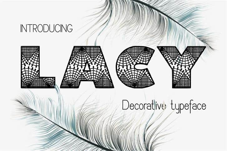 Download Lacy font (typeface)