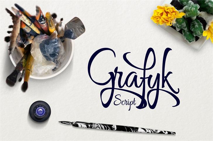 Download Grafyk font (typeface)