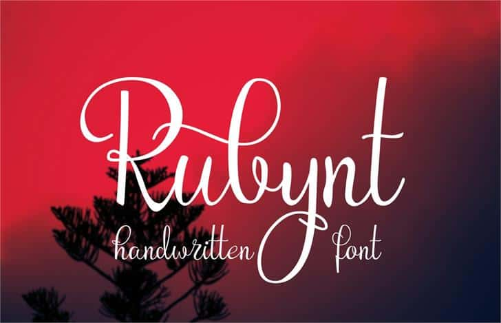 Download Rubynt font (typeface)