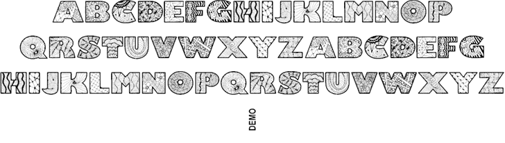 Download Zenfyrkalt font (typeface)