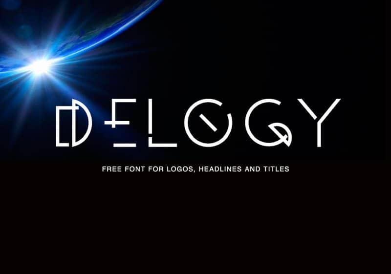 Delogy шрифт скачать бесплатно