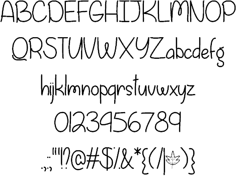 Download Fall is Coming font (typeface)