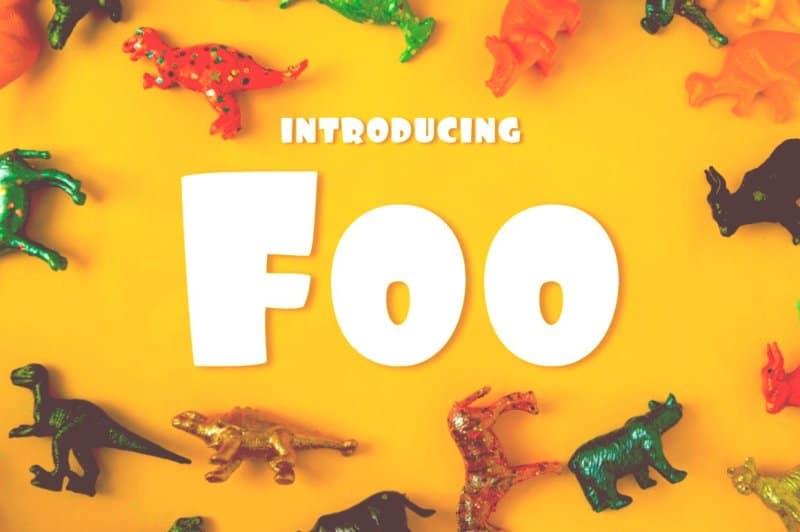 Download Foo font (typeface)