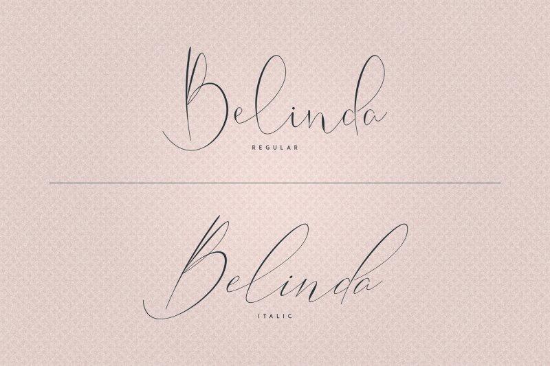 Belinda Regular шрифт скачать бесплатно