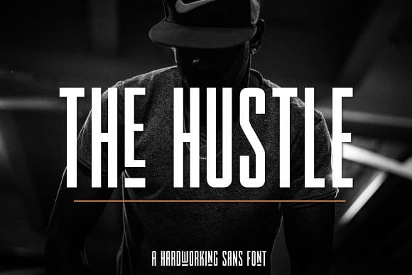 Download The Hustle font (typeface)