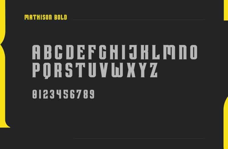 Download Mathison font (typeface)