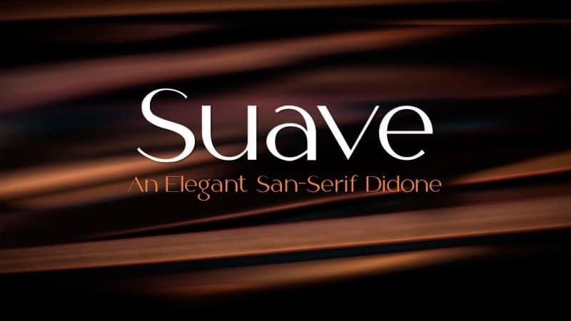 Suave шрифт скачать бесплатно