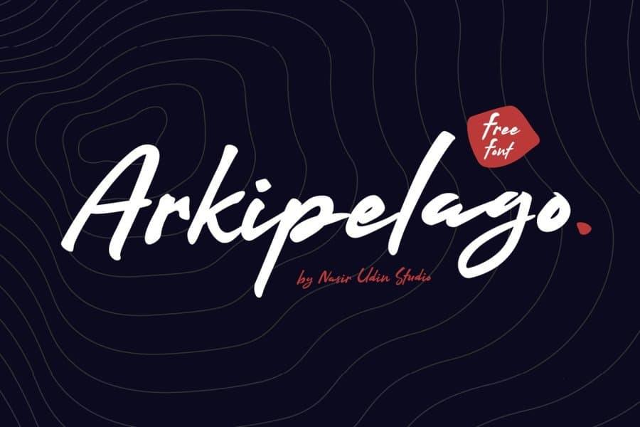 Download Arkipelago font (typeface)